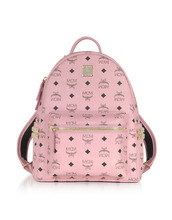 MCM | Stark - Маленький Розовый Рюкзак | Clouty