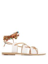 Ancient Greek Sandals | Amaryllis Stones leather sandals | Clouty