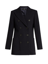 Calvin Klein   Double-breasted tailored jacket   Clouty