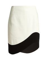 Mugler | Wave-hem mini skirt | Clouty