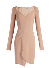 GIVENCHY | Sweetheart-neckline crepe dress | Clouty