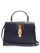 GUCCI | Sylvie medium leather shoulder bag | Clouty