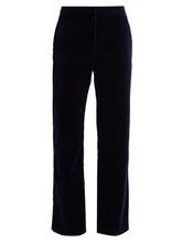 Altuzarra | Nettle kick-flare velvet cropped trousers | Clouty