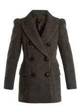 Isabel Marant | Lea double-breasted wool coat | Clouty