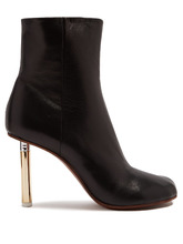 VETEMENTS | Lighter-heel leather ankle boots | Clouty