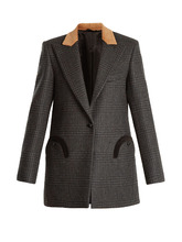 BLAZE MILANO | Out and About Prince of Wales-checked blazer | Clouty