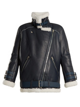 Acne Studios | Velocite oversized shearling jacket | Clouty