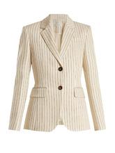 Altuzarra | Fenice single-breasted pinstriped blazer | Clouty