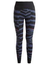 adidas by Stella McCartney | Training Miracle zebra-print performance leggings | Clouty