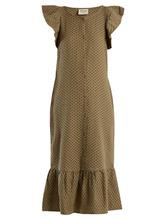 Cecilie Copenhagen | Jehro scarf-jacquard cotton dress | Clouty