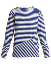 MYAR | RUT00 Russian long-sleeved striped top | Clouty