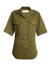 MARQUES'ALMEIDA   Safari short-sleeved shirt   Clouty