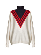Barrie | Halls of Ivy ski roll-neck knit sweater | Clouty