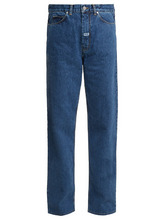 Martine Rose | High-rise relaxed-fit straight-leg jeans | Clouty