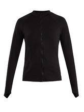PEPPER & MAYNE | High-neck zip-through performance top | Clouty