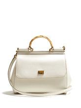 Dolce & Gabbana | Sicily medium leather bag | Clouty