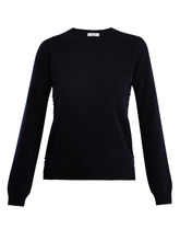 VALENTINO | Rockstud crew-neck cashmere sweater | Clouty