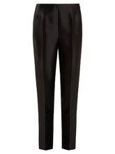 Gabriela Hearst | Masto slim-leg silk and wool-blend trousers | Clouty