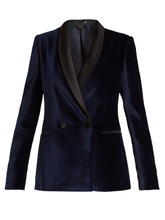 Stella McCartney | Double-breasted velvet jacket | Clouty