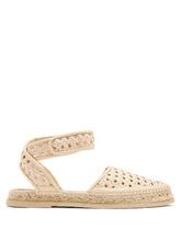 Stella McCartney | Woven-wicker espadrille sandals | Clouty