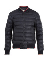 MONCLER | Aubry quilted down bomber jacket | Clouty