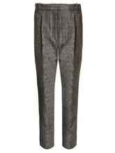 Rebecca Taylor | High-rise checked cropped trousers | Clouty