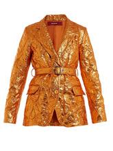 Sies Marjan | Terry crinkled-finish blazer | Clouty