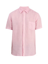 120% Lino | Short-sleeved linen shirt | Clouty