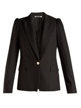 Stella McCartney | Salma peak-lapel wool blazer | Clouty