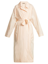 Bottega Veneta | Studded silk trench coat | Clouty
