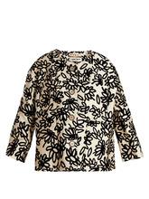 Marni | Mikado floral-print faille jacket | Clouty