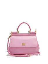 Dolce & Gabbana | Sicily small dauphine-leather bag | Clouty