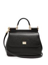 Dolce & Gabbana | Sicily medium dauphine-leather bag | Clouty