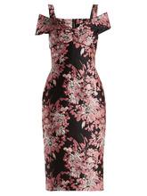 Dolce & Gabbana | Floral jacquard dress | Clouty