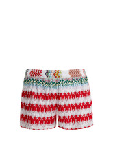Missoni Mare | High-waist knit shorts | Clouty