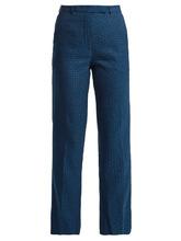 Etro | Violante floral-jacquard trousers | Clouty