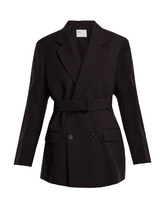 Toga | Double-breasted wool-twill jacket | Clouty