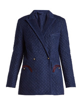 BLAZE MILANO | Kalmar quilted terry-towelling blazer | Clouty
