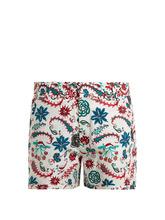 LE SIRENUSE, POSITANO | Leopard Garden-print cotton shorts | Clouty
