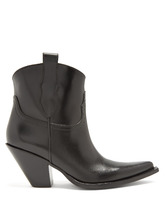 Maison Margiela | Western leather ankle boots | Clouty