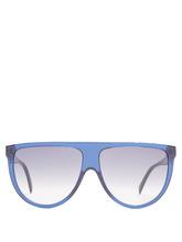 CÉLINE | Shadow aviator D-frame acetate sunglasses | Clouty