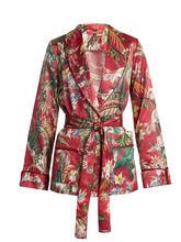 For Restless Sleepers | Armonia floral-print cotton-blend jacket | Clouty