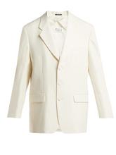 Maison Margiela   Single-breasted wool-blend blazer   Clouty