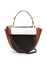 WANDLER | Hortensia mini leather cross-body bag | Clouty