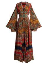 Etro | Zoist paisley-print silk-chiffon dress | Clouty