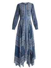 Altuzarra | Tamourine scarf-print dress | Clouty