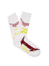 VETEMENTS   X Reebok Metal cotton-blend socks   Clouty