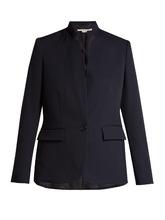 Stella McCartney | Fleur single-breasted wool blazer | Clouty