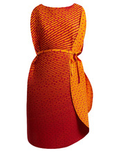 ISSEY MIYAKE | Pleated cocoon dress | Clouty