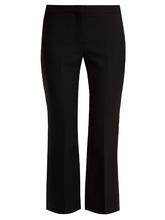 Alexander McQueen | Kickback wool-blend tuxedo trousers | Clouty